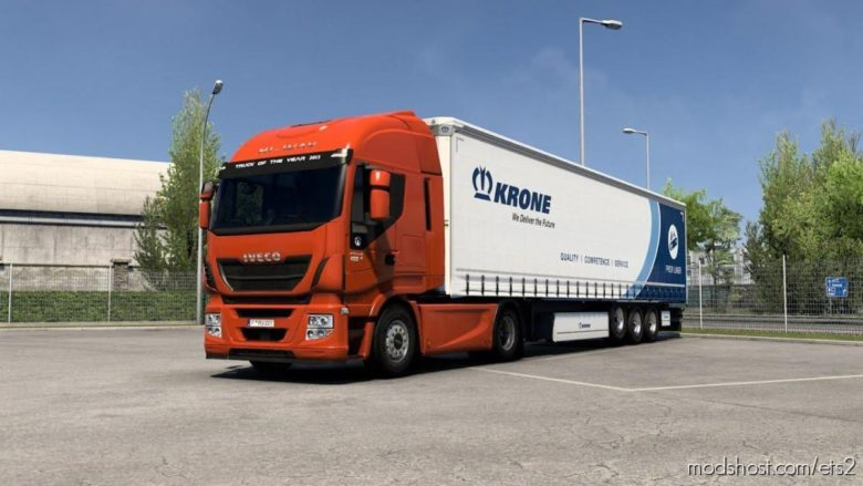 Stralis Cursor 11 V2.0 for Euro Truck Simulator 2