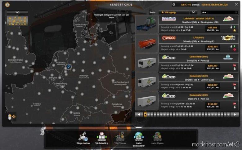 60 TON Mod Truckersmp – Singleplayer for Euro Truck Simulator 2