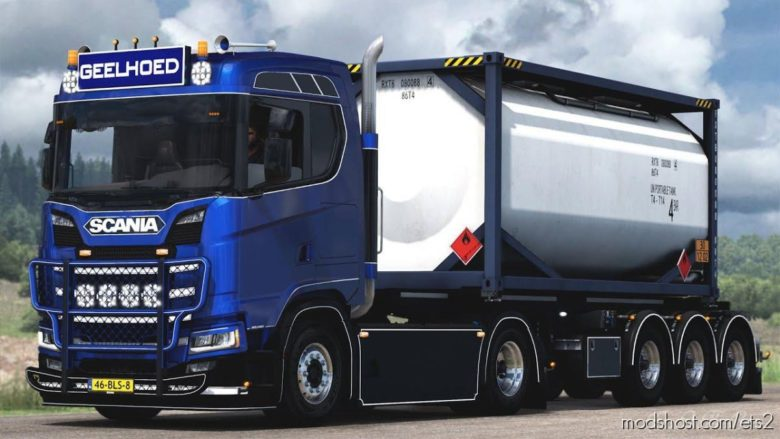 Geelhoed Scania S450 [1.40] for Euro Truck Simulator 2