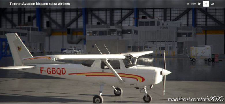 Cessna 152 Aero-Club Hispano-Suiza for Microsoft Flight Simulator 2020