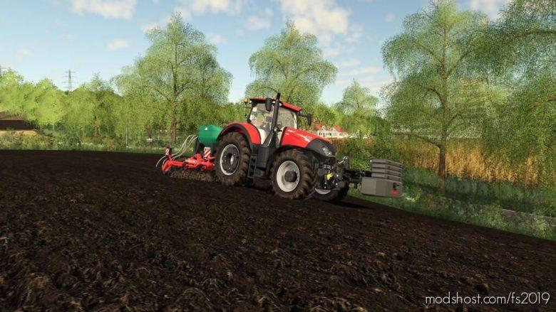 Offset Mass Holder V1.1 for Farming Simulator 19