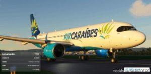 AIR Caraibes A320Neo V2.0 8K for Microsoft Flight Simulator 2020