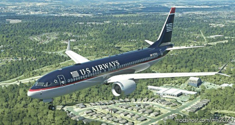 US Airways (OLD Colors) – B737 MAX for Microsoft Flight Simulator 2020