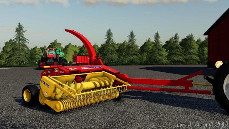 NEW Holland FP240 Final for Farming Simulator 19