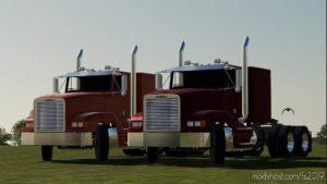 Freightliner FLD Sleeper for Farming Simulator 19