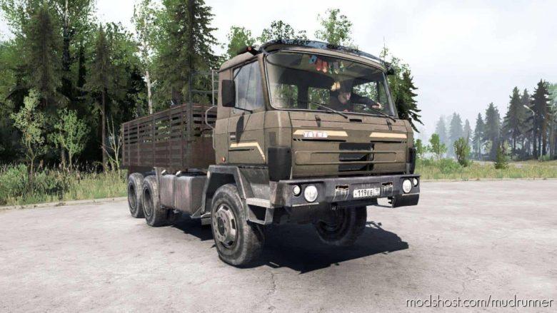 Tatra T815 Truck for MudRunner