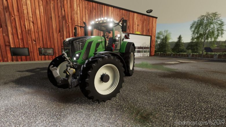 Fendt 800S V1.5 for Farming Simulator 19
