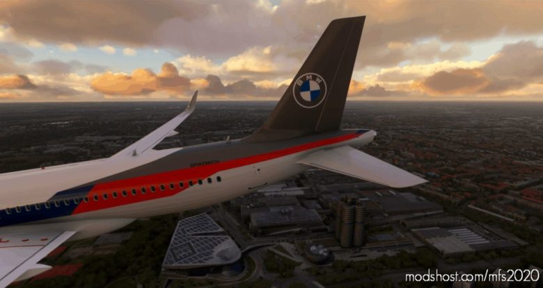 BMW M Motorsport A320 NEO Livery for Microsoft Flight Simulator 2020