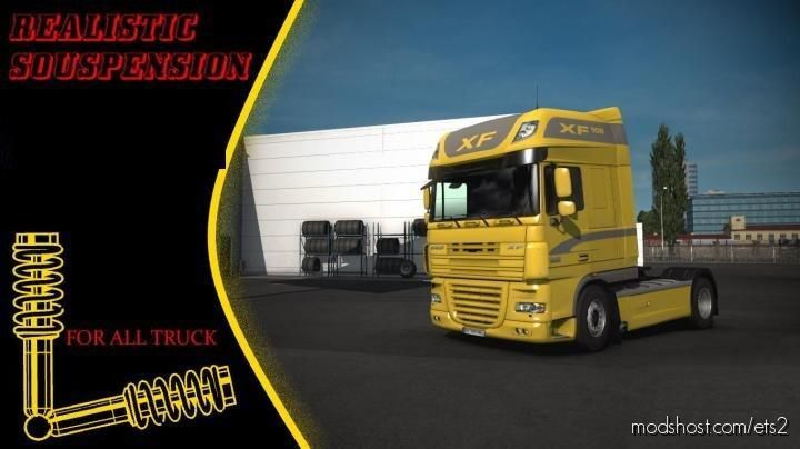 Dynamic Suspension Mod [1.40] for Euro Truck Simulator 2