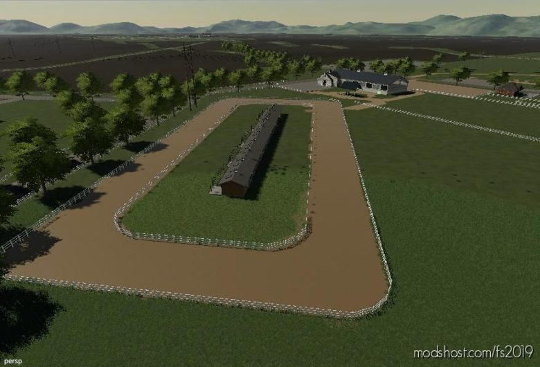 Horse Race Track for Farming Simulator 19