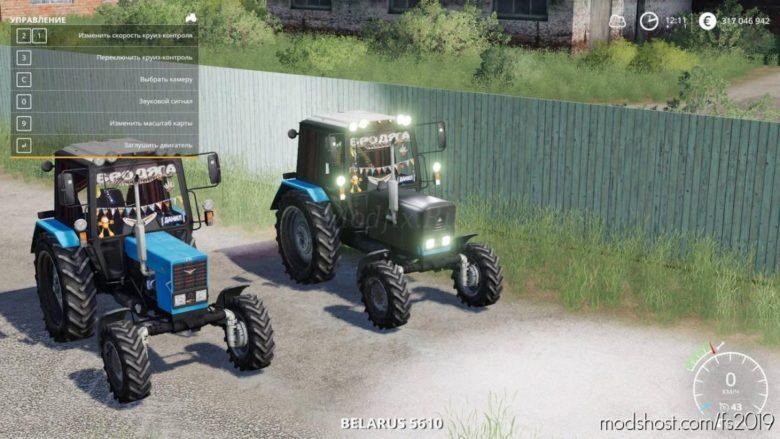 Belarus MTZ 82.1 for Farming Simulator 19
