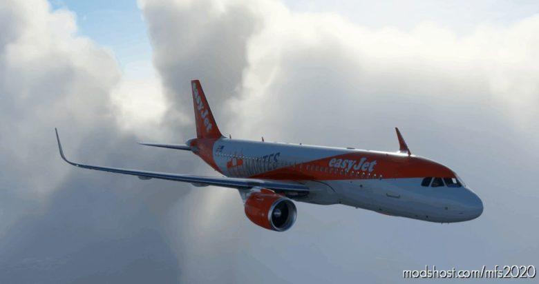 Easyjet Nantes A320NEO – 8K for Microsoft Flight Simulator 2020