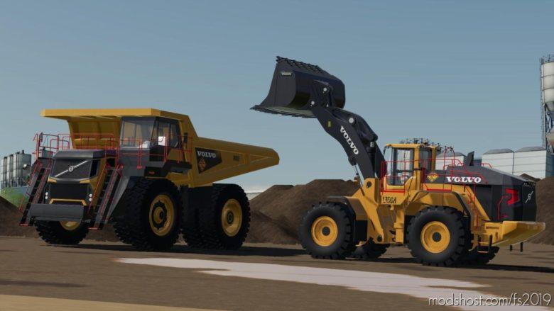 Volvo L-350H Mining Loader for Farming Simulator 19