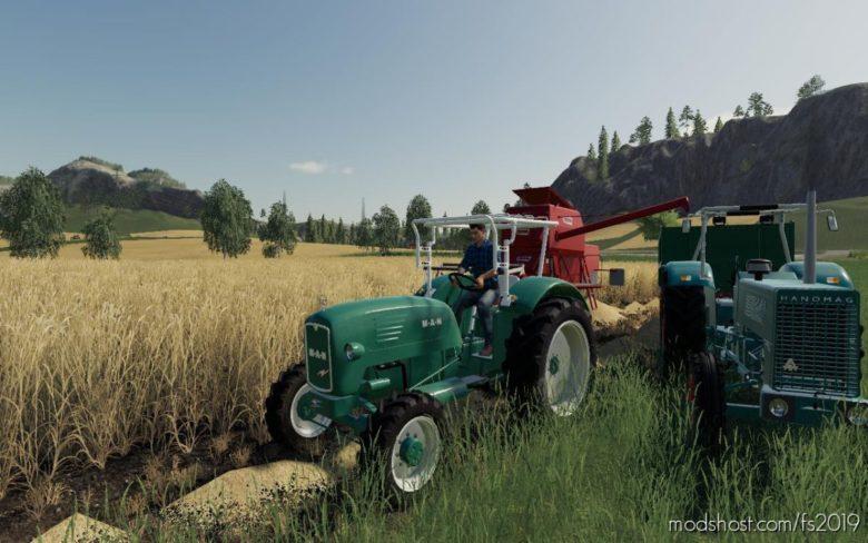 M.A.N 4P1 for Farming Simulator 19