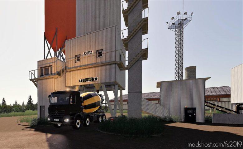 Mercedes-Benz Arocs Concrete Mixer for Farming Simulator 19