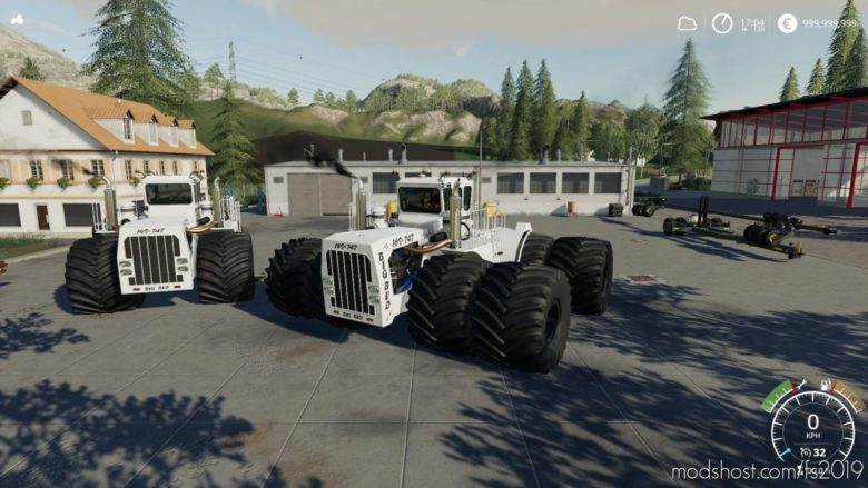 BIG BUD Edit V1.4 for Farming Simulator 19