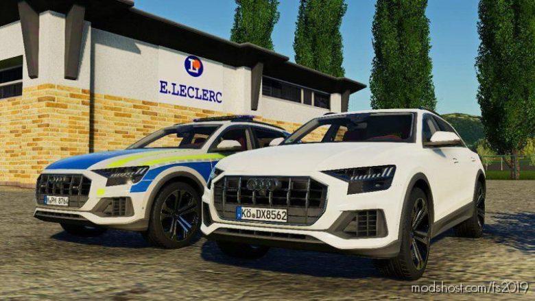 Audi Q8 2019 Pack for Farming Simulator 19