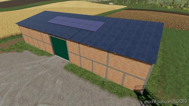Solar Panel Warehouse for Farming Simulator 19