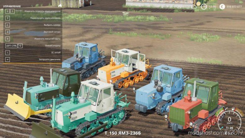 T-150 Tracked V1.3.2.2 for Farming Simulator 19