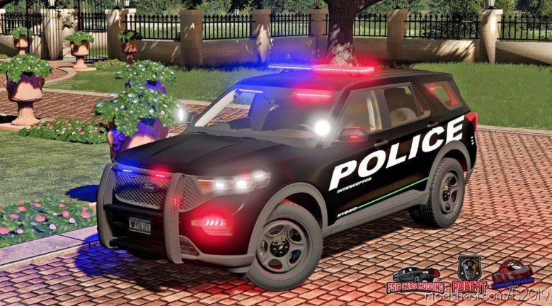 Ford Explorer 2020 Police Interceptor for Farming Simulator 19