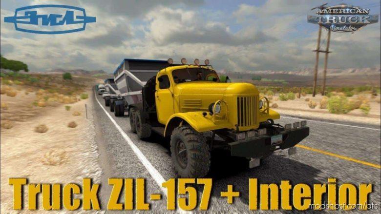 ZIL-157 Truck + Interior V1.5 [1.40.X] for American Truck Simulator