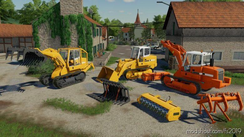 Crawler Loader Liebherr 622 Pack for Farming Simulator 19