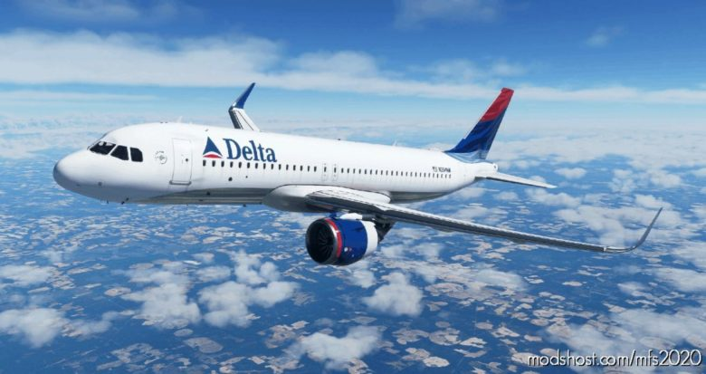 "Delta ""Colors In Motion"" [8K] – A320Neo for Microsoft Flight Simulator 2020"
