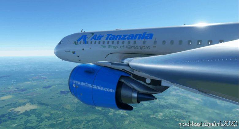 Tanzania Airlines for Microsoft Flight Simulator 2020