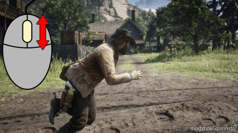 Scroll Wheel Movement Speed Control for Red Dead Redemption 2