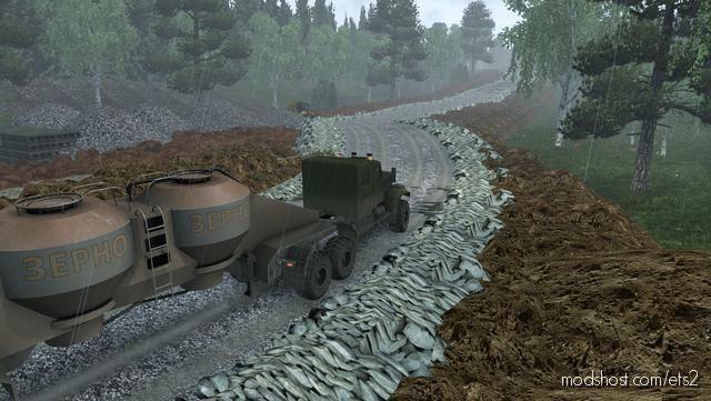 Map Harsh Russian Siberia R14 [1.39] for Euro Truck Simulator 2