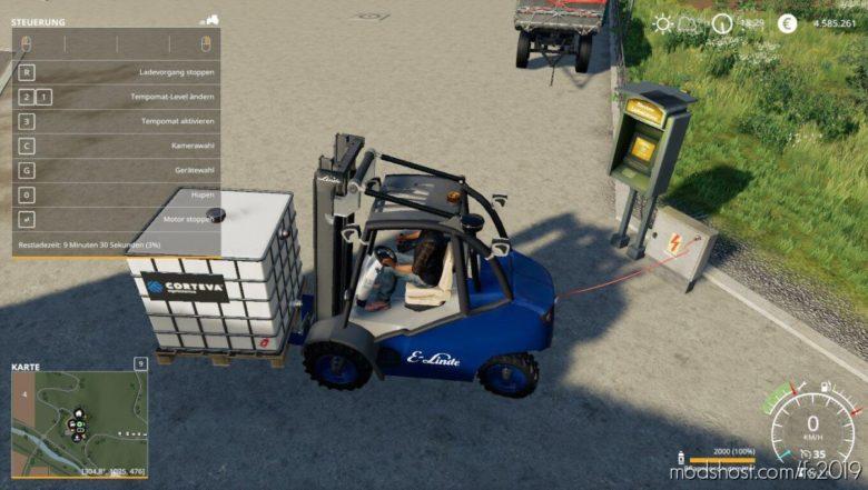 Linde Gabelstapler-Pack for Farming Simulator 19