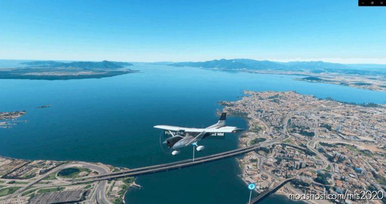 Florianópolis, SC – Parte 2 | Continente for Microsoft Flight Simulator 2020