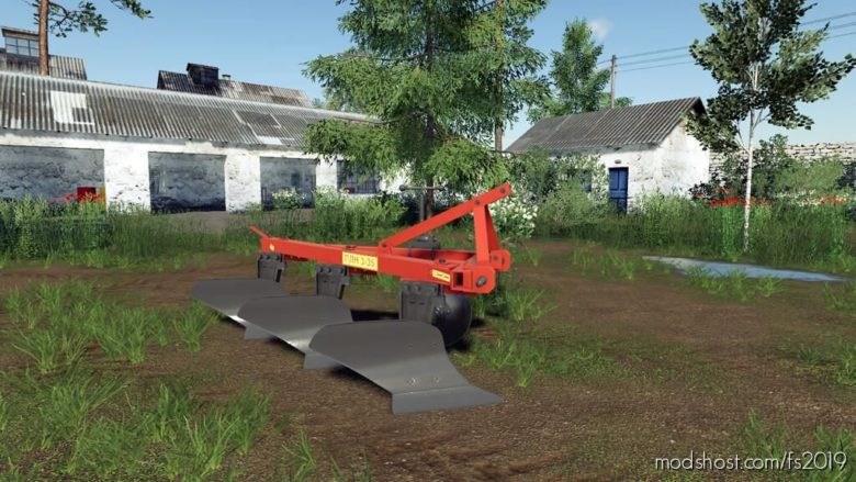 PLN Plows Pack for Farming Simulator 19