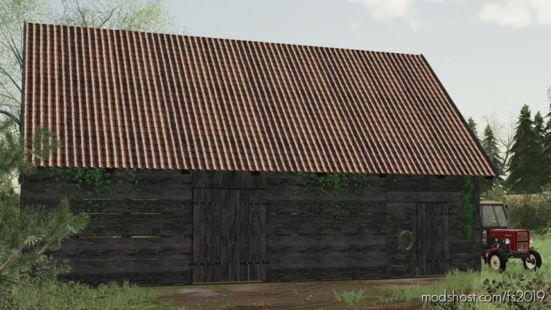 Wooden Barn for Farming Simulator 19