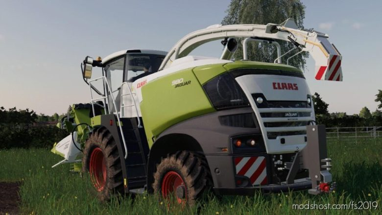 Pickup Hitch For Claas Jaguar Forager V1.0.1.0 for Farming Simulator 19