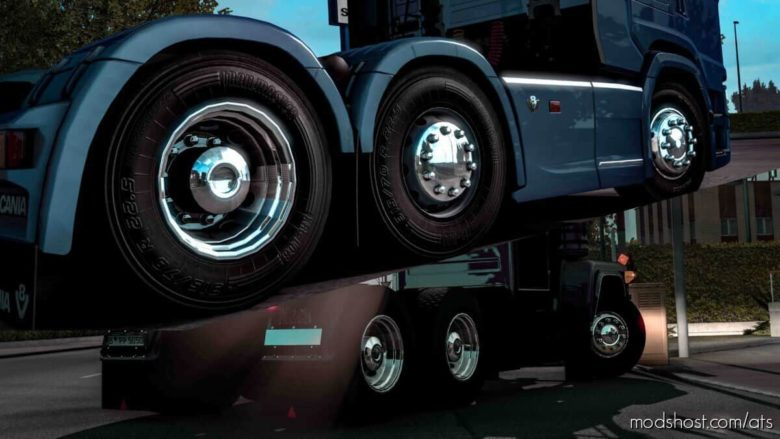 Rims Cover Pack for American Truck Simulator