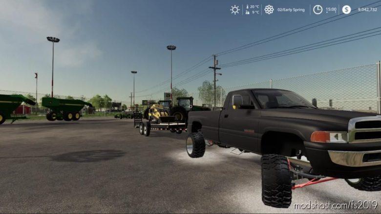 2ND GEN RAM for Farming Simulator 19