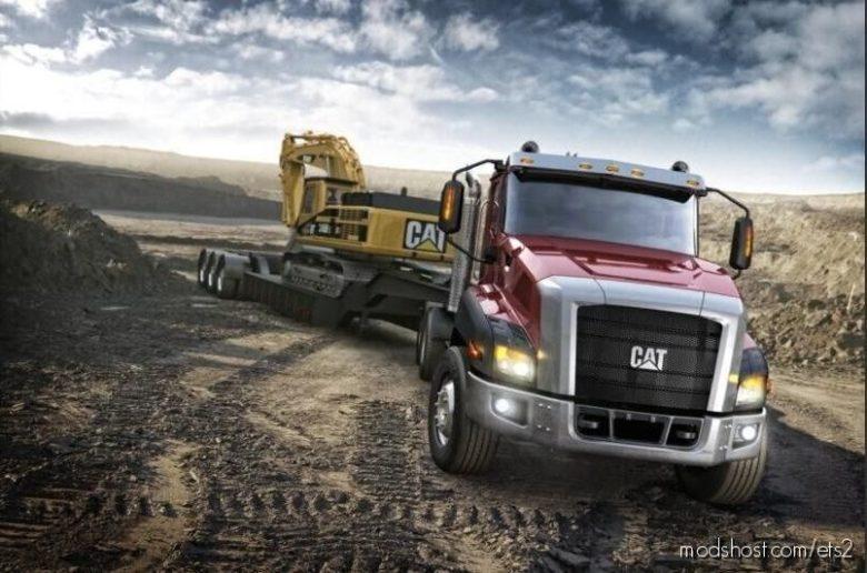 CAT CT660 [1.39 – 1.40] for Euro Truck Simulator 2