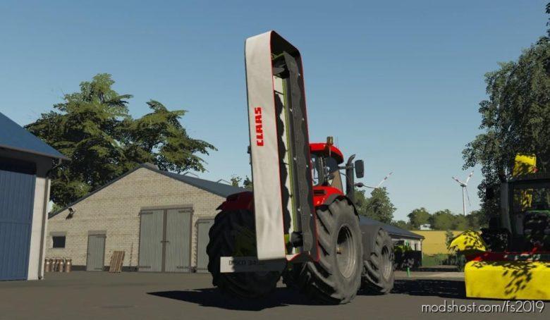 Claas Disco 3450 Plus for Farming Simulator 19