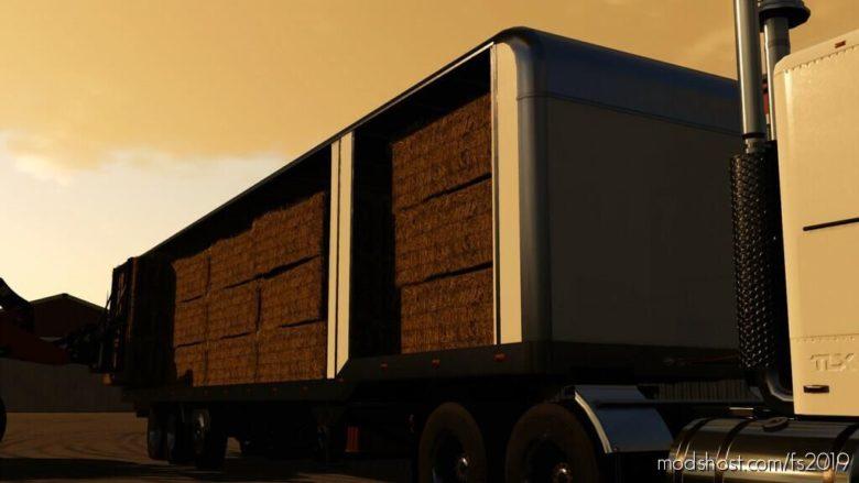 TLX 48FT Enclosed Trailers V1.1 for Farming Simulator 19