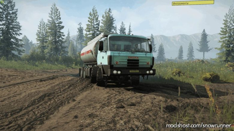 Tatra Pack For PC V for SnowRunner