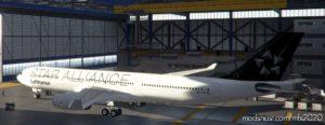 Lufthansa Star Alliance Livery Hb-Iqr A330-300 for Microsoft Flight Simulator 2020