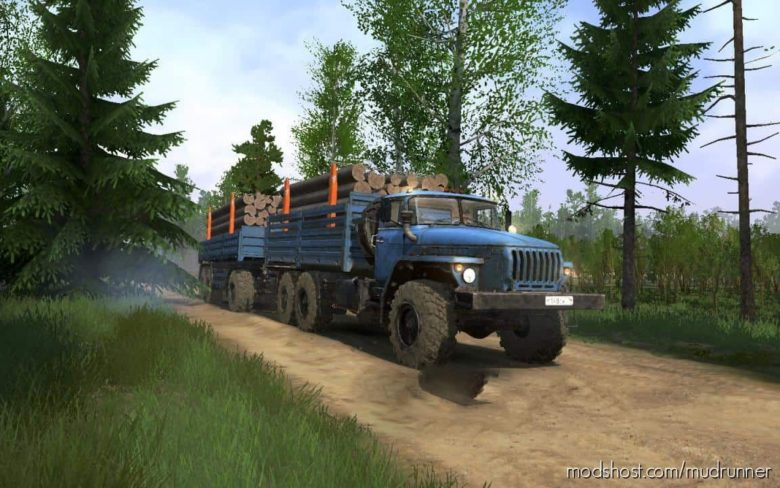 Forest District 4 Map V1.3 for MudRunner