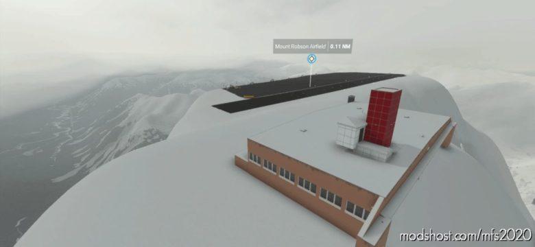 (Cmra) Mount Robson Airfield (B.C.) V0.6 for Microsoft Flight Simulator 2020
