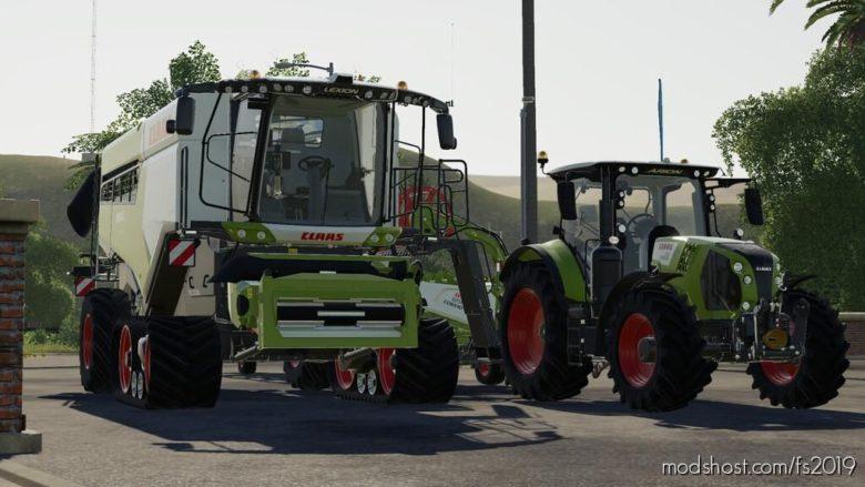 Louder Claas AIR Honks for Farming Simulator 19