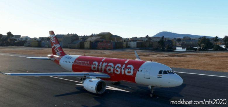 Airbus A320Neo – Airasia (Indian) (8K) V1.01 for Microsoft Flight Simulator 2020
