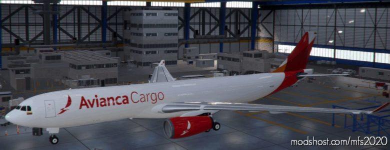 Avianca Cargo A330-300 (Colombia, Brazil, Peru) V1.1 for Microsoft Flight Simulator 2020