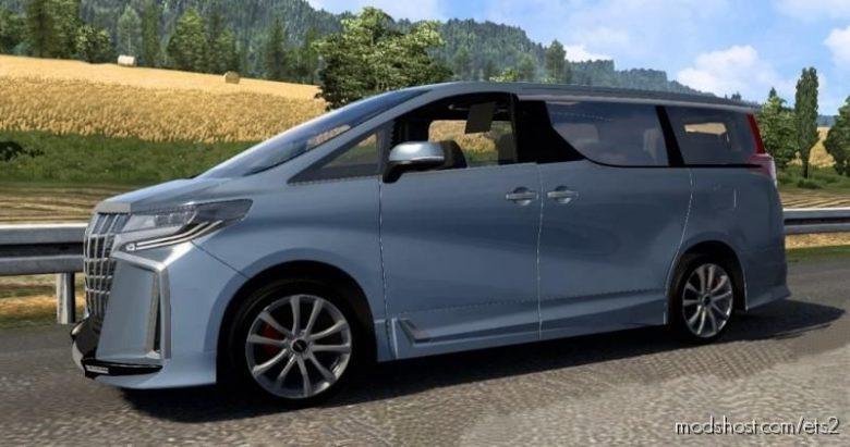 Toyota Alphard V0.0.1 [1.39 – 1.40] for Euro Truck Simulator 2