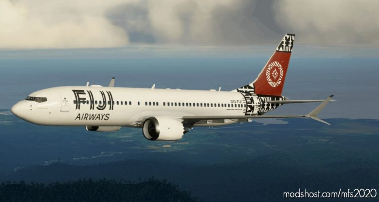 Fiji Airways Boeing 737 – (5K*10K) for Microsoft Flight Simulator 2020