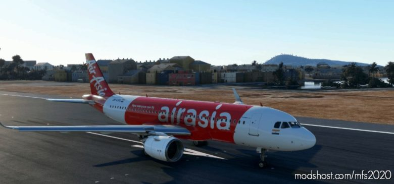 Airbus A320Neo – Airasia (Indonisian) (8K) for Microsoft Flight Simulator 2020